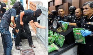 8 People Arrested For Drug Trafficking, 7 Are Malaysian Police Officers - World Of Buzz 4
