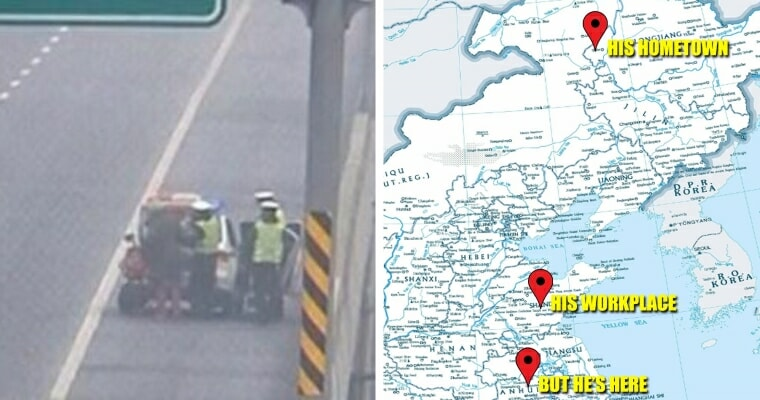 Chinese Man Cycling Home In Wrong Direction Realises Only After A Month - World Of Buzz 2