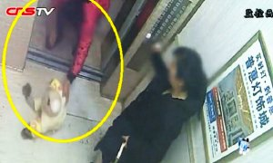Chinese Parents Argued, Then Dumps Their Baby On The Freezing Elevator Floor - World Of Buzz