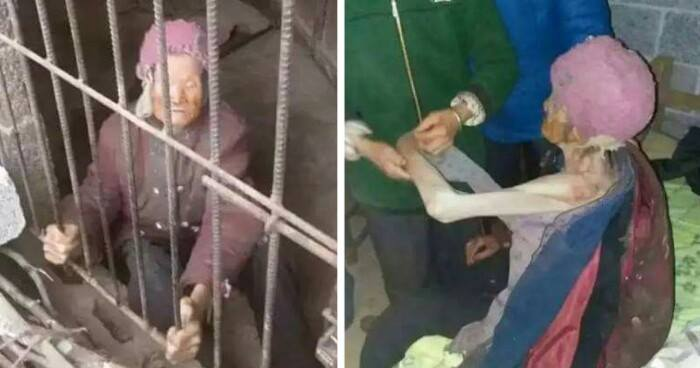 Cruel Chinese Couple Locks Up Their Own 92-Year-Old Mother In A Pigpen For Years - World Of Buzz 4