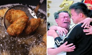 Fried Oyster Triggers Childhood Memories, Abducted Son Reunited With Father After 13 Years - World Of Buzz 3