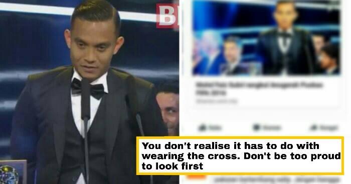 Indonesian Girl Says Faiz Subri Was Wearing A Cross, Receives Public Backlash - World Of Buzz 1