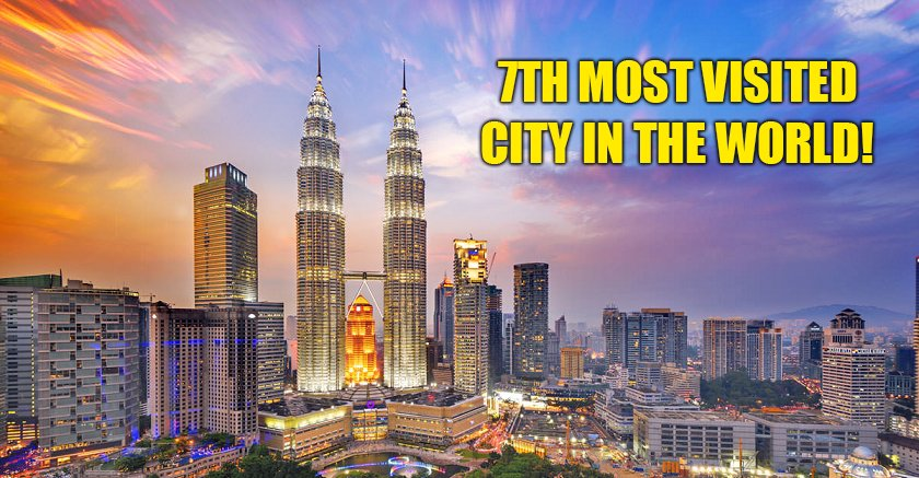 Kuala Lumpur Ranks 7Th Most Visited Cities In The World! - World Of Buzz