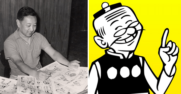 'lao Fu Zi' Creator, Alfonso Wong Passed Away But Son Continues His Legacy - World Of Buzz