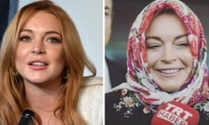 Lindsay Lohan Converted to Islam - World Of Buzz 5