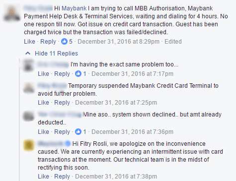 Malaysian Lady Uses Maybank Card, Transaction Failed But Money Deducted 4 Times - World Of Buzz
