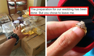 Malaysian Man Painstakingly Prepares Wedding, Fiancée Bails On Him Last Minute - World Of Buzz