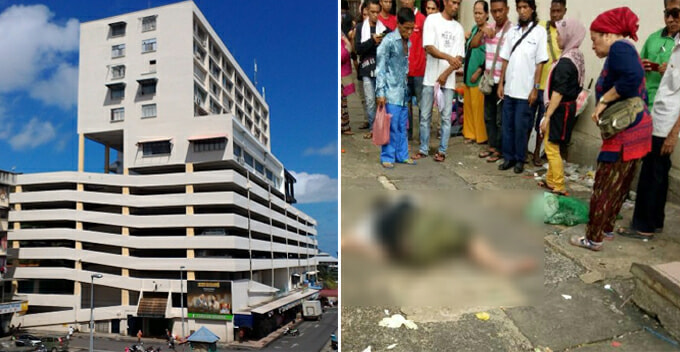 Malaysian Man Survives After Accidentally Falls Over 5th Floor Of A Building - World Of Buzz 3