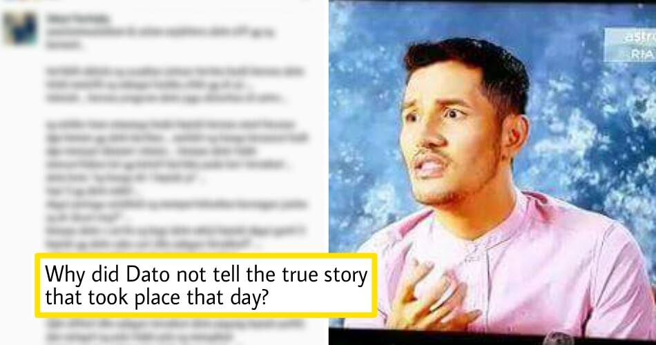 Malaysian Millionaire Celebrity Under Fire After Twisting Truth In His Own Reality TV Show - World Of Buzz 8