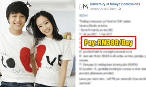 Malaysian Student Posts Vacancy Ad Looking For A Girlfriend To Rent For CNY - World Of Buzz 1