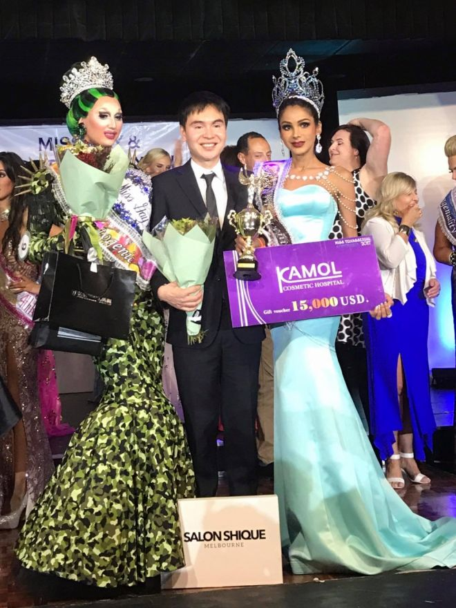 Malaysian Wins The Title Of Miss Transsexual Australia 2017 - World Of Buzz