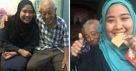 Malaysian Woman Plans Open House For Elder Man And Shares Their Heartwarming Story - World Of Buzz