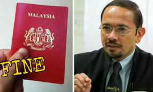 Malaysians Will Be Fined By The Immigration Department If They Lose Their Passport - World Of Buzz