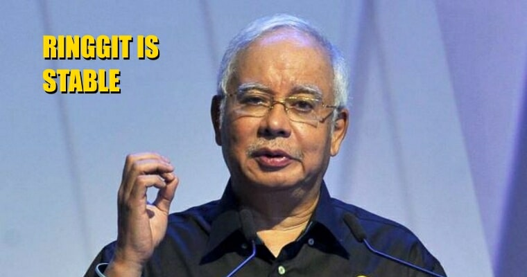 Najib Is Confident That Malaysian Ringgit Will Recover And Not Drop Further - World Of Buzz