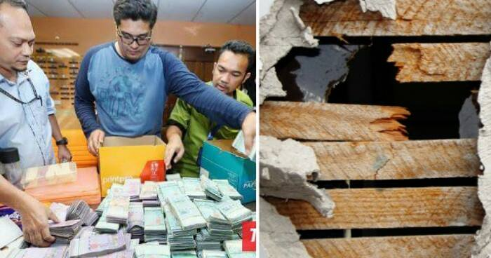 Rm1.1 Million Cash Found In A Wall Of A Malaysian Official In Latest Corruption Case - World Of Buzz