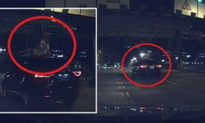 Singaporean Had The Fright Of His Life After Spotting Ghostly-Looking Woman On Top Of Car - World Of Buzz