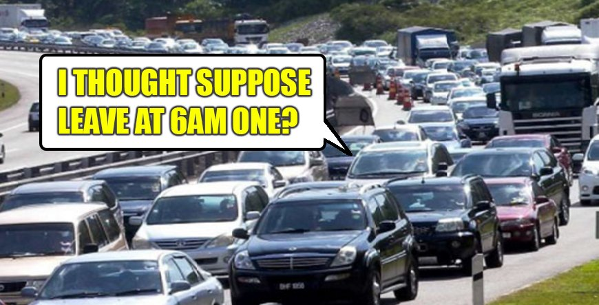 """[Test] 7 Things Malaysians Who """"Balik Kampung"""" By Car For Chinese New Year Can Relate To - World Of Buzz"""