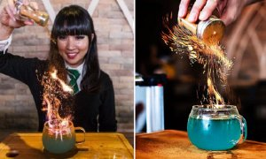 Try This Magical Goblet of Fire Drink in a Harry Potter-Inspired Cafe in Singapore - World Of Buzz 7