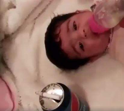 Videos Of Heartless Father Slapping, Choking, And Feeding Infant Pepsi Goes Viral - World Of Buzz 4