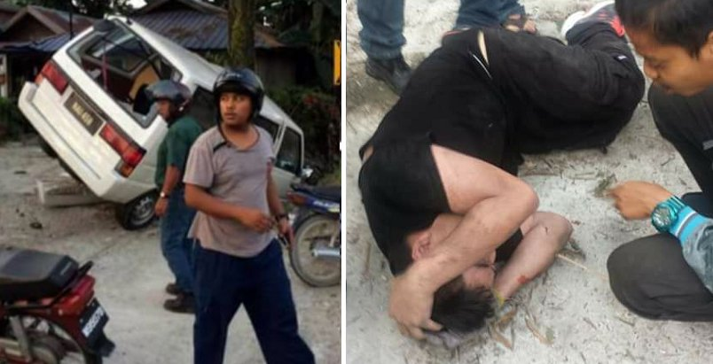 Young Malaysian Lady Gets Kidnapped, Civilians Come To The Rescue And Beat Up Culprits - World Of Buzz