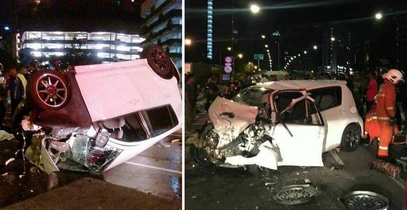 21-Year-Old Malaysian University Student Dies in Horrific Car Crash in Kuala Lumpur - World Of Buzz 5
