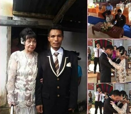 28-Year-Old Indonesian Man Falls In Love With And Marries 82-Year-Old Lady - World Of Buzz 1