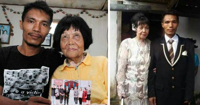 28-Year-Old Indonesian Man Falls In Love With And Marries 82-Year-Old Lady - World Of Buzz 3
