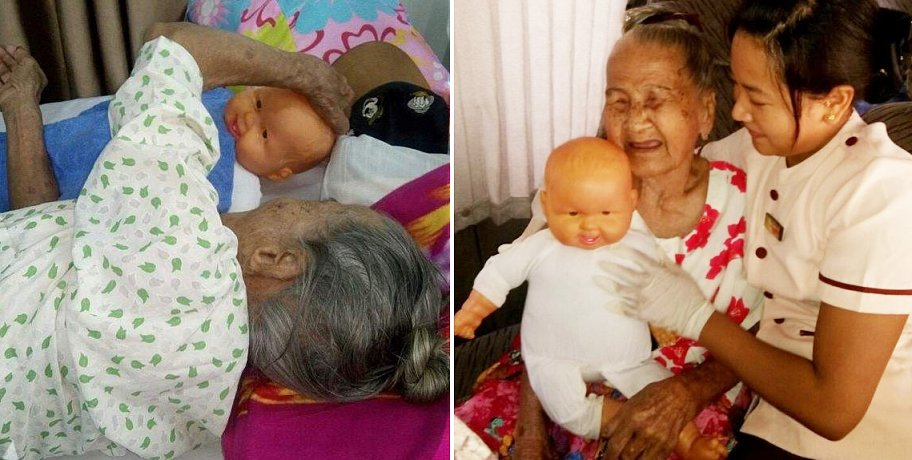 87-Year-Old Woman Requests To Bring Along Baby Doll When Sent To Old Folks Home By Family - World Of Buzz 1