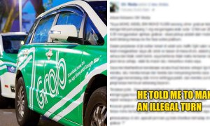Arab Men Punch Malaysian Grab Driver For Not Making Illegal Turn, Police Thinks It's A Small Matter - World Of Buzz 1