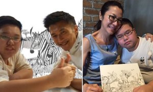 Autistic Malaysian Kid Called 'Worst Artist' & 'No Potential' By Teacher, But Look At Him Now - World Of Buzz 6