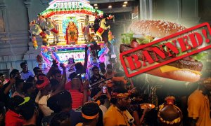 Burgers Are Banned In Ipoh This Thaipusam, Netizens In Full Support Of Ban - World Of Buzz
