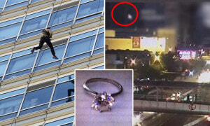 Chinese Guy Abseiling From 29th Floor To Propose With Diamond Ring, Plunges To Death - World Of Buzz