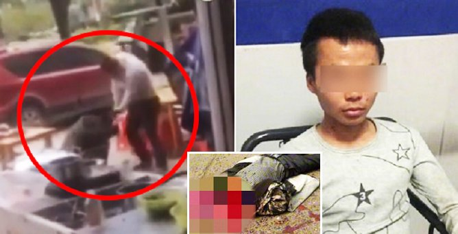 Chinese Man Chops Off Restaurant Owner's Head After Being Overcharged For Noodles - World Of Buzz