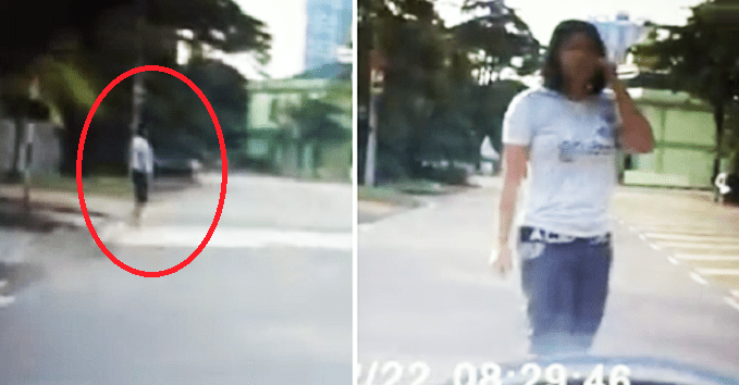 'Fake Accident Scam' From China Spotted In Malaysia, Caught On Lady Driver's Dash-Cam - World Of Buzz 2