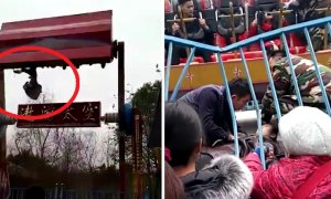 Horrifying Moment Guy Was Flung Out From Thrill Ride In China - World Of Buzz 3