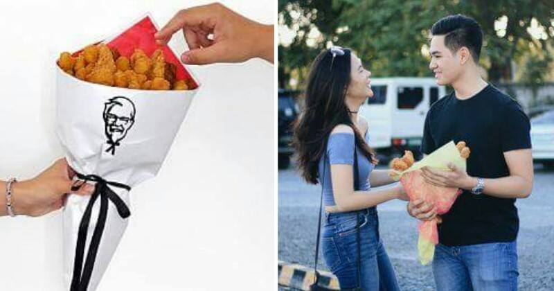 Impress Your Date With A Kfc Chicken Bouquet This Valentines Day - World Of Buzz 3
