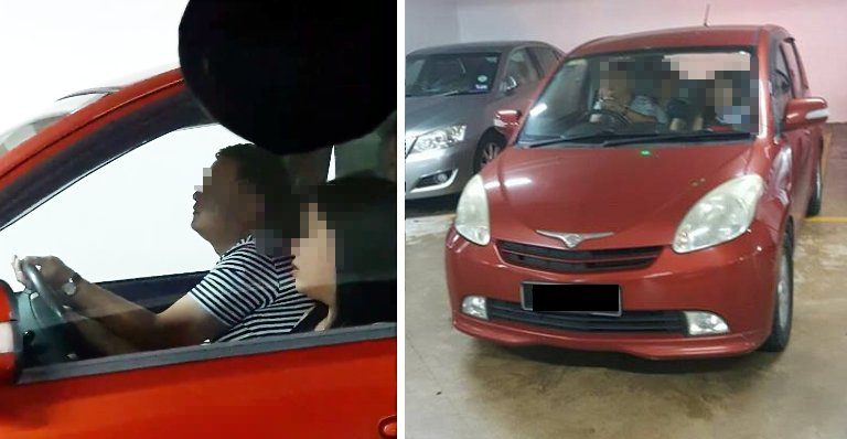 Malaysian Lady Shares Frustrating Moment Another Car Stole Her Parking - World Of Buzz