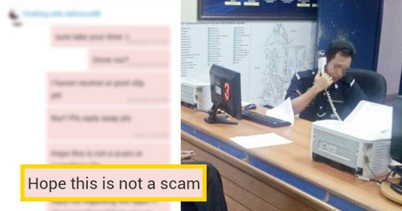 Malaysian Man Conned Of Rm400, Police Tells Him To Write His Own Report - World Of Buzz 12
