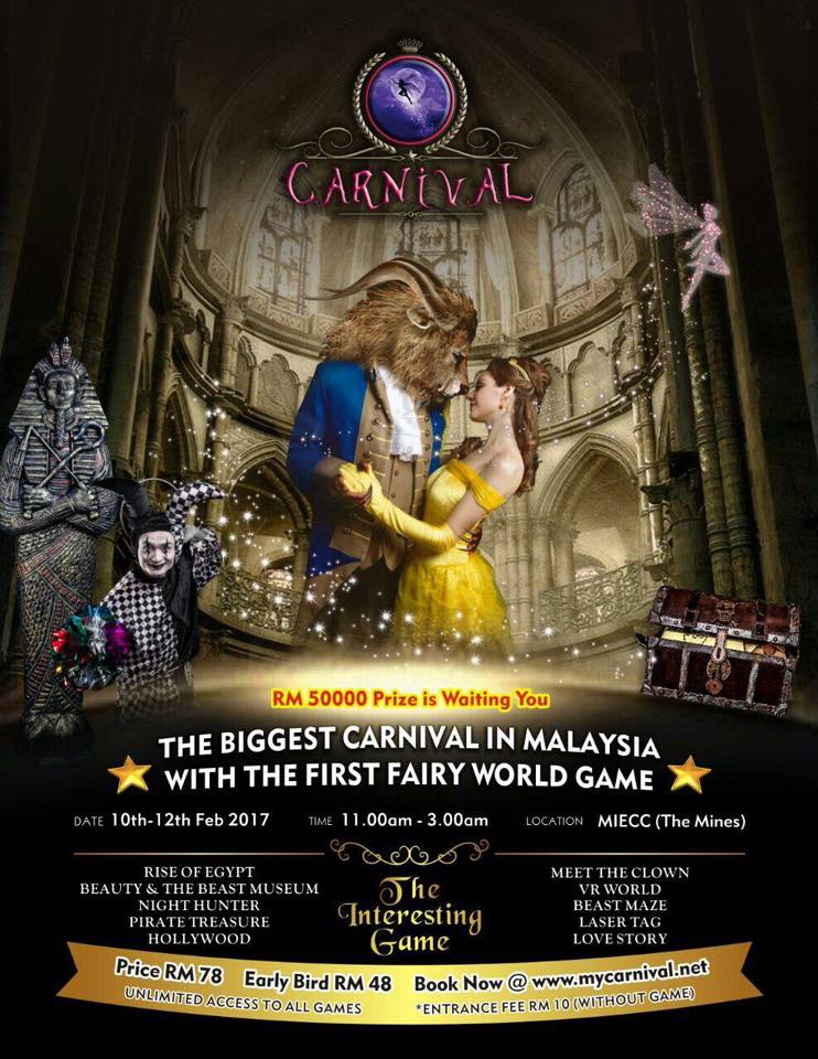 Malaysia's Biggest Carnival, 'the Carnival' Suffers Backlash For Poor Organization From Frustrated Netizens - World Of Buzz