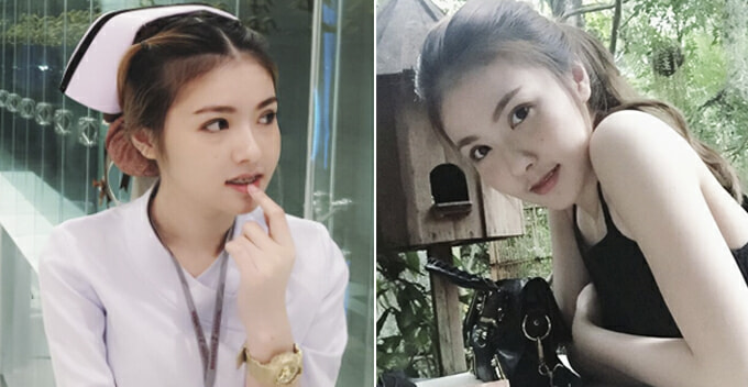Beautiful Nurse Makes Netizens Suddenly Fall Sick and Request to be Warded - World Of Buzz