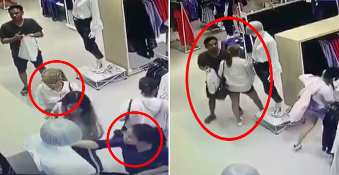 Cctv Footage Reveals Group Of Professional Pickpockets Preying In Pavilion - World Of Buzz