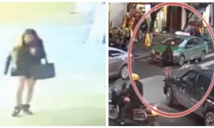 Cctv Footage Shows Chinese Woman Throwing Rm10,000 On The Street In Anger - World Of Buzz 4