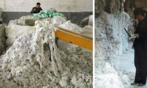 Chinese Factory Exposed For Recycling Old And Used Diaper To Make New Ones - World Of Buzz 9