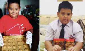Cute Malaysian Boy Bakes Cookies to Save Sea Turtles - World Of Buzz