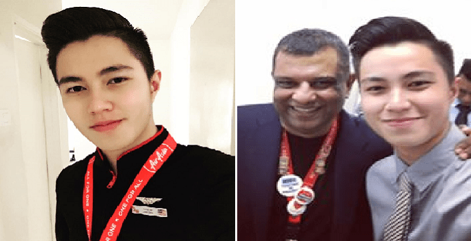 Handsome Air Asia Flight Attendant Captures Hearts with Inspiring Story of His Success - World Of Buzz 6