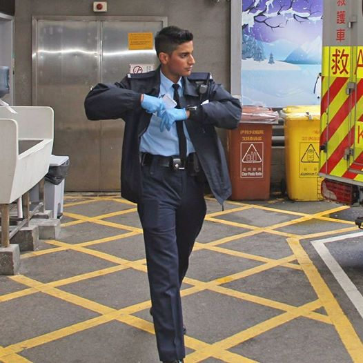 Hong Kong's Most Handsome Cop Saves Suicidal Man - World Of Buzz 1