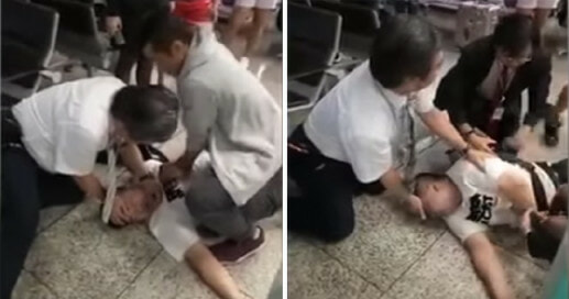 Hong Kong's Most Handsome Cop Saves Suicidal Man - World Of Buzz 4