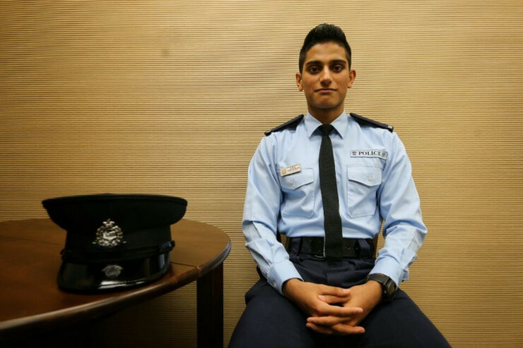 Hong Kong's Most Handsome Cop Saves Suicidal Man - World Of Buzz 5