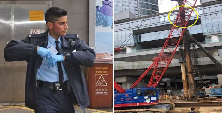 Hong Kong's Most Handsome Cop Saves Suicidal Man - World Of Buzz 6