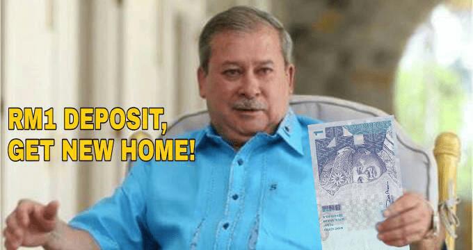 Johor Sultan Announces RM1 Deposit For New Housing Scheme, Netizens Overjoyed - World Of Buzz 4